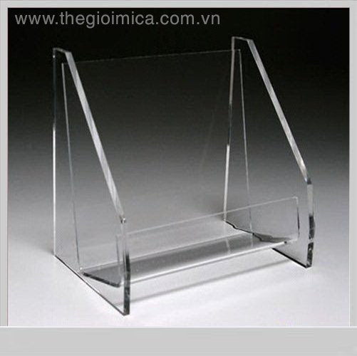 Exquisite Transparent Acrylic Plastic CD Display Rack