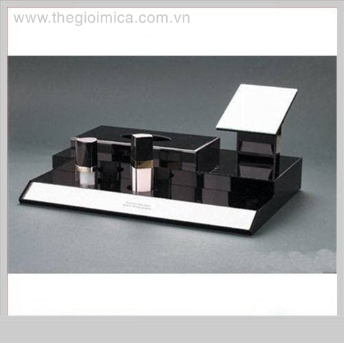 Black Grand Multifunctional Acrylic Cosmetic Display StandØ